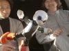 Kirobo and Mirata Robots