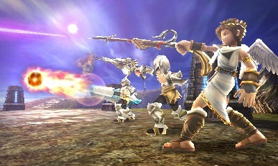 Nintendo Kid Icarus: Uprising