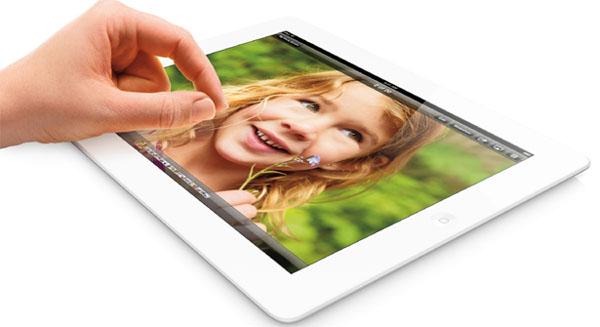 Fourth generation iPad