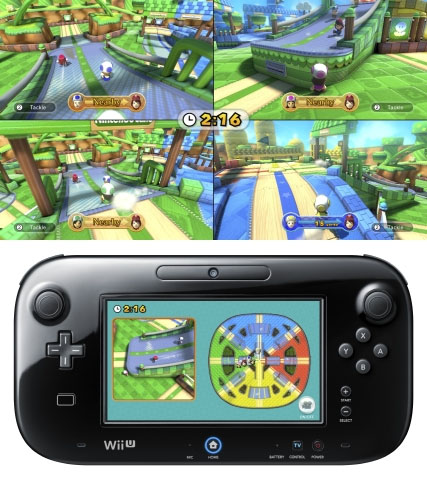 Mario Chase from Nintendo Land for Wii U