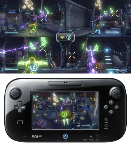 Metroid Blast from Nintendo Land for Wii U