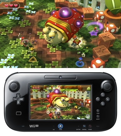 Pikmin Adventure from Nintendo Land for Wii U