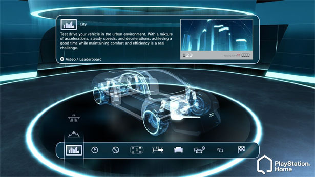 AUDI Driving Technology Simulation Game