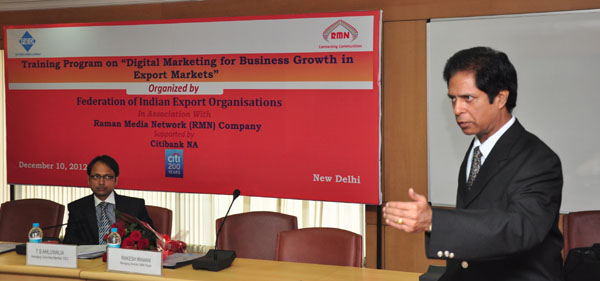 Digital Marketing Awareness Program for Exporters