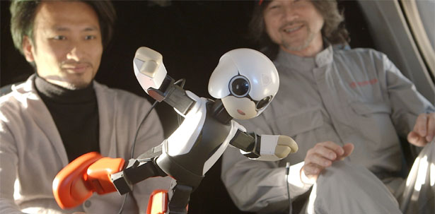 Kirobo and Mirata Robots