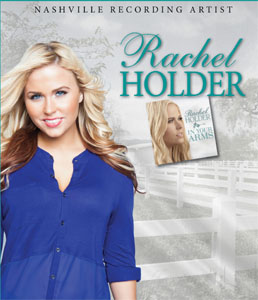 Nashville Recording Artist, Rachel Holder