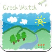 CreekWatch mobile app
