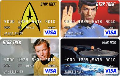 Star Trek Debit Cards