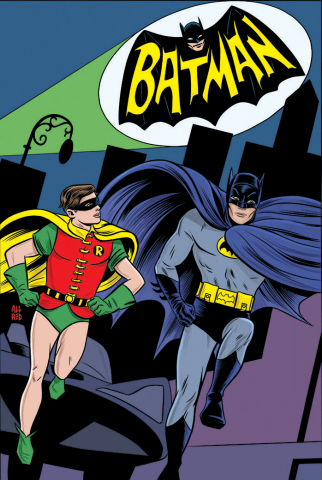 Batman '66 #1 cover by Mike Allred