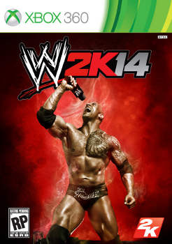 WWE 2K14 Cover Art Features The Rock