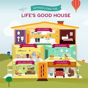 'Life's Good' House