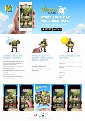 DreamWorks' Shrek Alarm