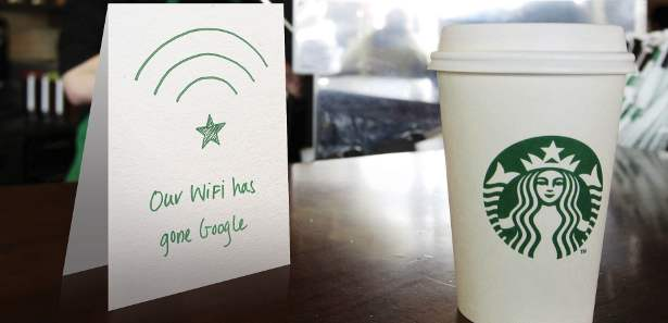 Starbucks and Google to Sell Coffee with Wi-Fi