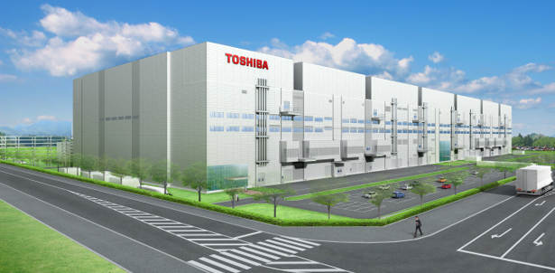 Toshiba's Semiconductor Fabrication Facility at Yokkaichi