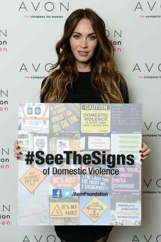 Avon Speak Out Against Domestic Violence