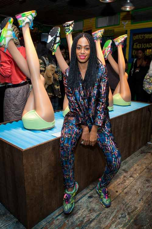 PUMA Teams up with Solange