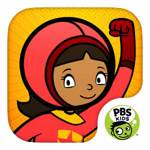 WordGirl Superhero Training App