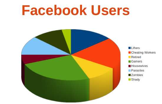 Categories of Facebook Users
