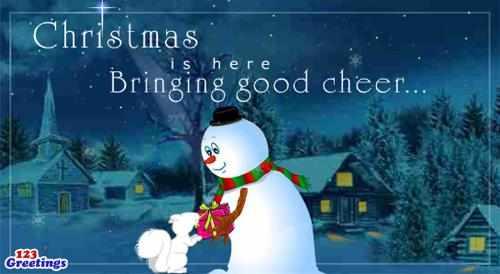 """Most Popular"" Christmas Ecard"