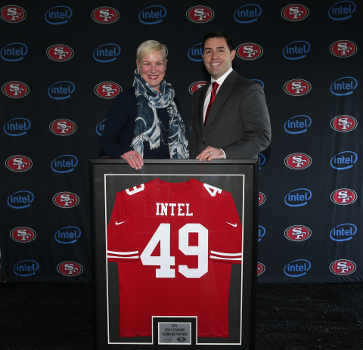 Intel Named Founding Partner of Levi's Stadium