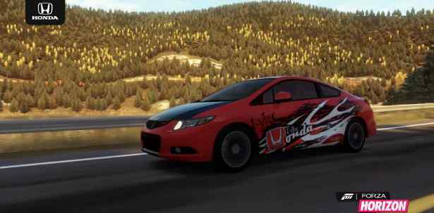 Honda is teaming with the racing franchise on Xbox One—Forza Motorsport—to unveil the winning entry of the Civic Si Design Contest at the Chicago Auto Show.