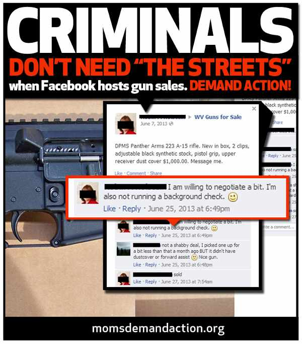 Gun Sales on Facebook
