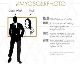 Oscar Celebration with #MyOscarPhoto