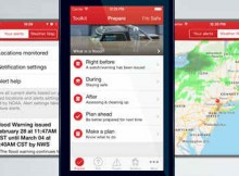American Red Cross Flood App