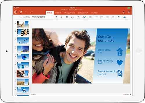 Microsoft Office for iPad