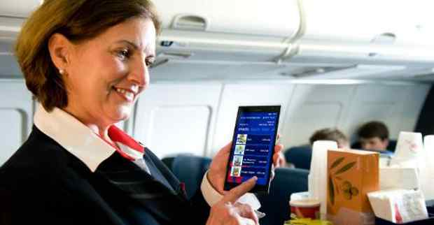 Delta to Use Phablets for In-Flight Customer Service