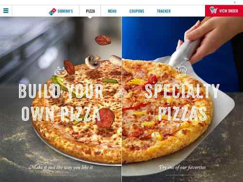 Domino's Pizza Ordering App