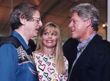 Ken Kragen and President Bill Clinton