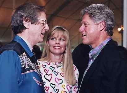 Ken Kragen and President Bill Clinton