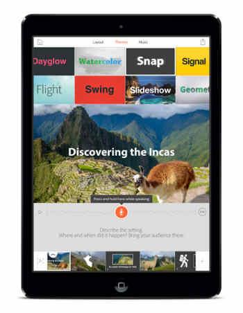 Adobe Voice Storytelling App