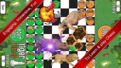 Animal Chess Game