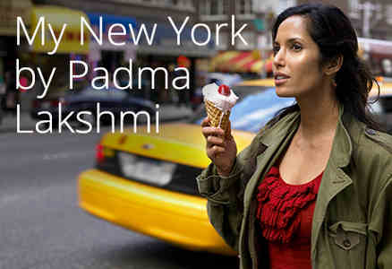 My New York by Padma Lakshmi