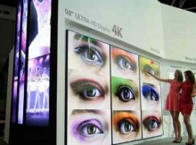 LG Digital Signage Monitor