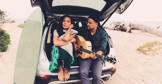 "Amanda Sudano and Abner Ramirez of the music duo Johnnyswim are working as key social media influencers to promote ""Dream Ride,"" a virtual drive experience of the all-new 2015 Lincoln MKC small premium utility."