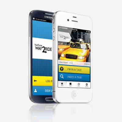 VeriFone Way2ride App