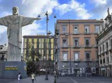 Fastweb Downloads Rio's Christ the Redeemer to Naples