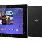 Verizon Wireless Offers Sony Xperia Z2 Tablet