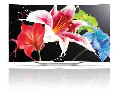LG Launches New 55-Inch Curved OLED TV