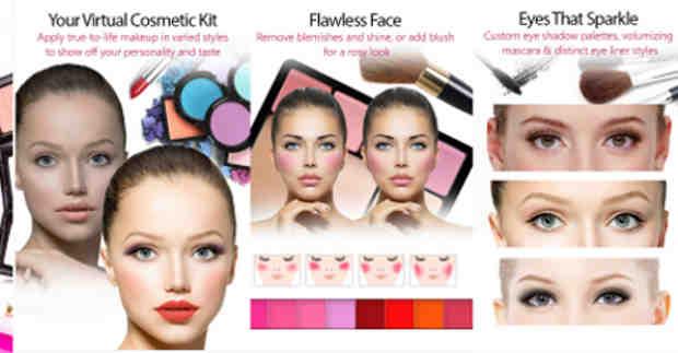 YouCam Makeup App
