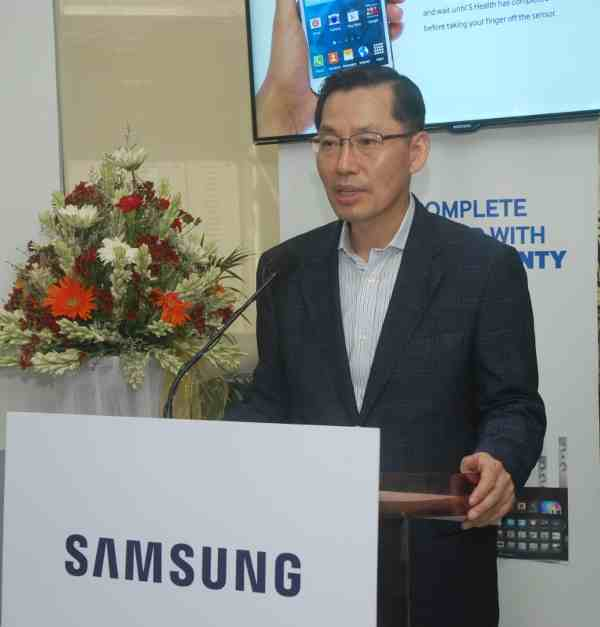 B.D. Park, president and CEO, Samsung South-West Asia