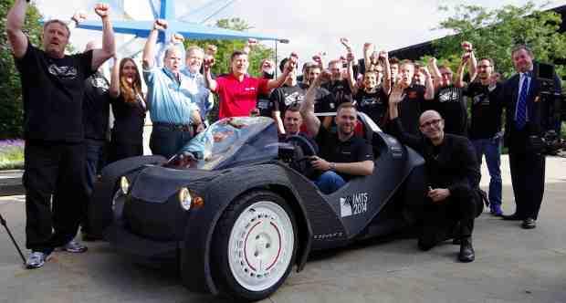 3D-printed car Strati