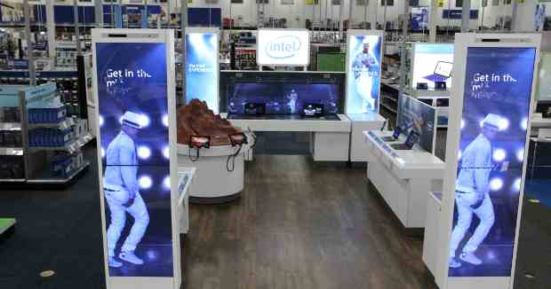The Intel Experience Opens in Best Buy Stores