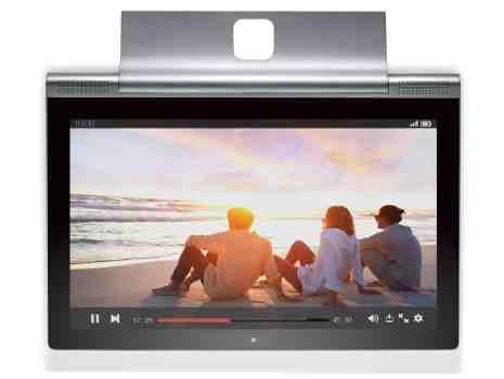 Actor Ashton Kutcher Unveils Lenovo YOGA Tablet 2 Pro