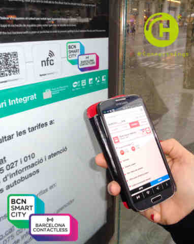Barcelona Goes Contactless at 8,000 Locations in the City