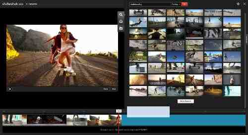 Shutterstock Sequence: An In-Browser Video Editing Tool