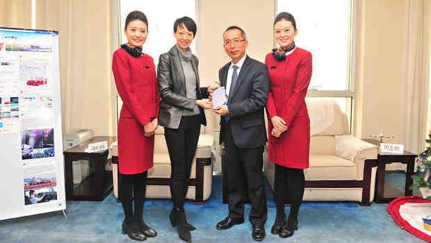 Air China Receives Facebook Award